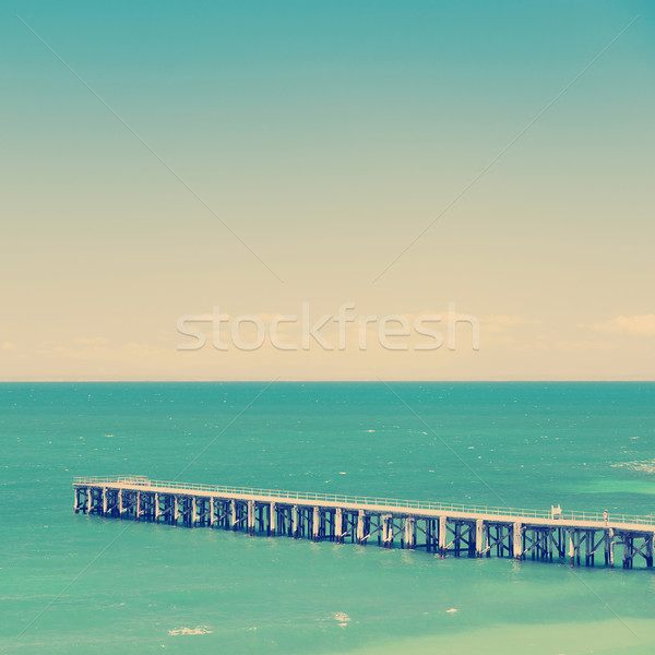 Wooden Jetty Stock photo © THP