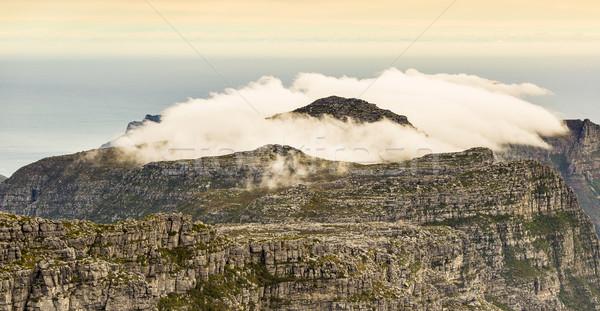 Ver doze topo tabela montanha Cidade do Cabo Foto stock © THP