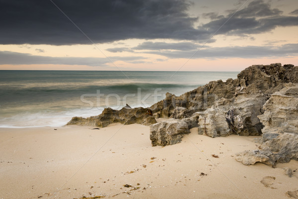 Stormy Beach Stock photo © THP