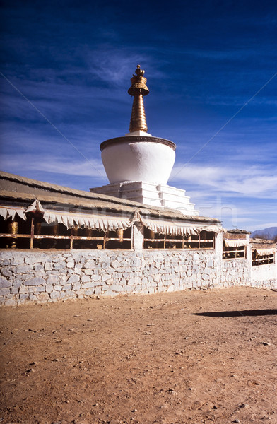 Tibetan Stupa Stock photo © THP