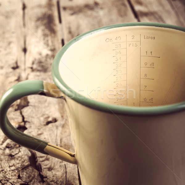 Vintage Measuring Jug Filtered Stock photo © THP