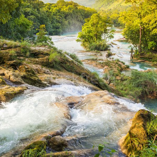 Agua Azul Waterfall Stock photo © THP