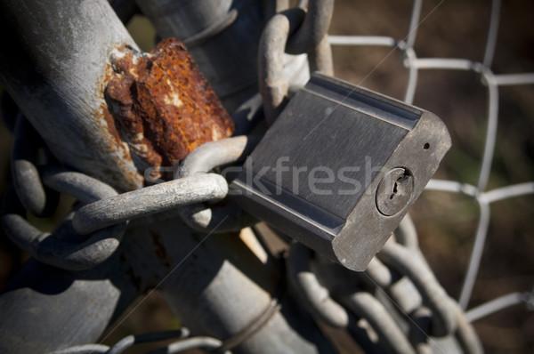 Padlock Stock photo © THP