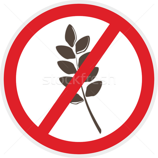 Gluten Free Icon Stock photo © THP
