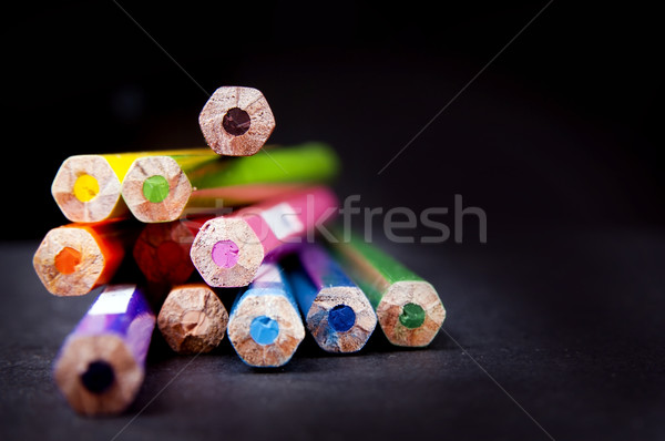 Pencil Ends Stock photo © THP