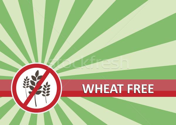 Wheat Free Banner Stock photo © THP