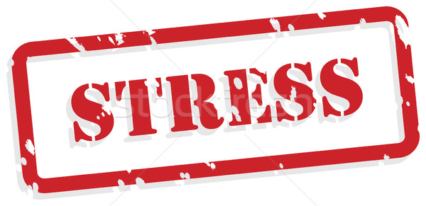 Stress Rubber Stamp Stock photo © THP