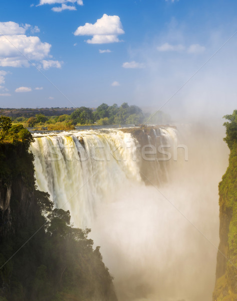 Victoria Falls Devils Cataract Stock photo © THP