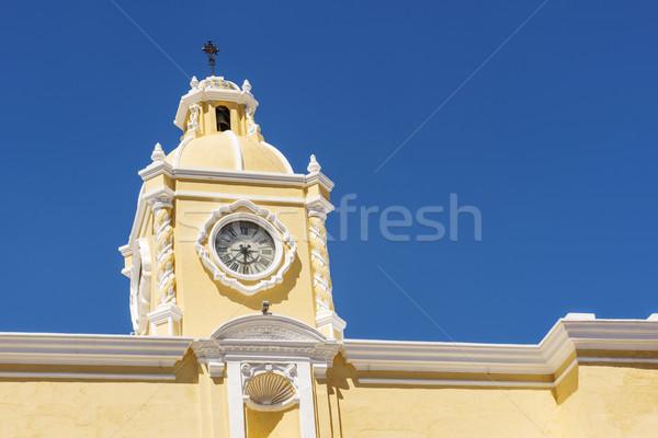 Antigua Guatemala Clock Tower Stock photo © THP