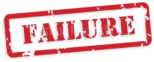 Сток-фото: провал · красный · вектора · психическое · здоровье · штампа