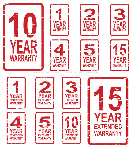 Warranty Stamps Stock photo © THP