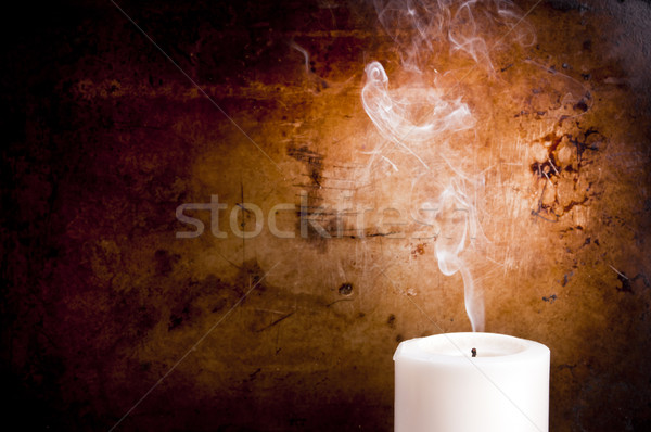 Candle Smoke Trails Stock photo © THP