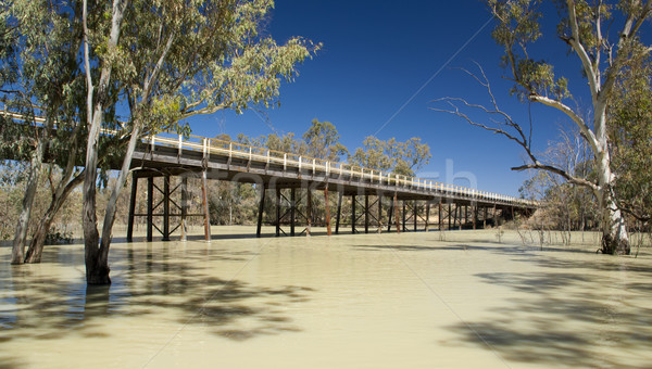 Stock photo: Darling River, Australia