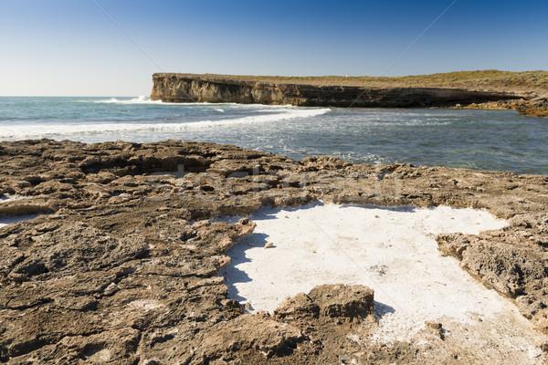 Oceano fora ver península sul da austrália mar Foto stock © THP