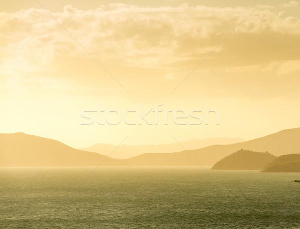 Noumea Coastline Sunset Stock photo © THP