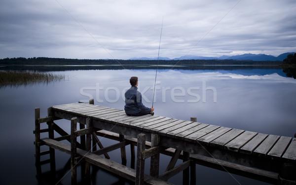 Fisherman Stock photo © THP