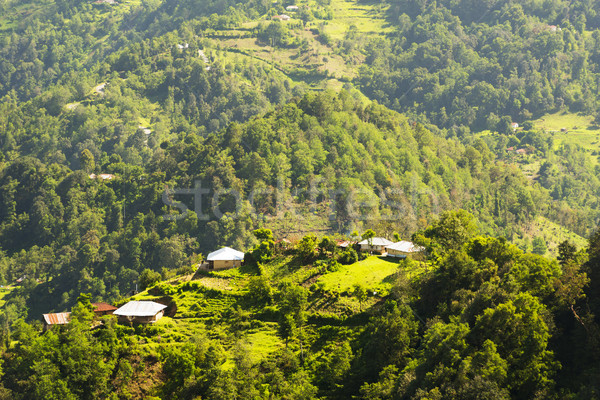 Guatemala Landscape Rural Village Stock photo © THP