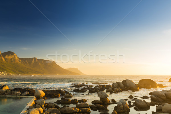 South African Ocean Sunset Stock photo © THP