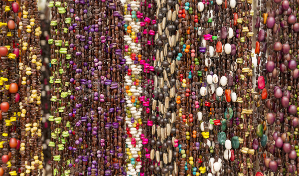 Colorful Beads As Background Pattern Stock photo © THP