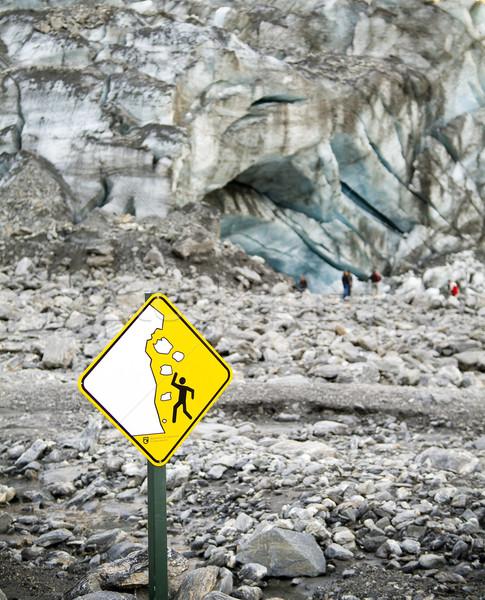 Glaciar cara personas luz viaje Foto stock © THP
