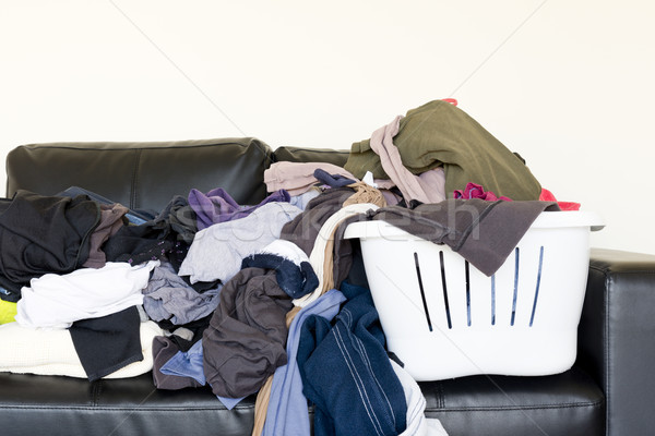 Pile of Washing Stock photo © THP