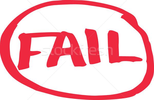 Fail Exam Grade Stock photo © THP