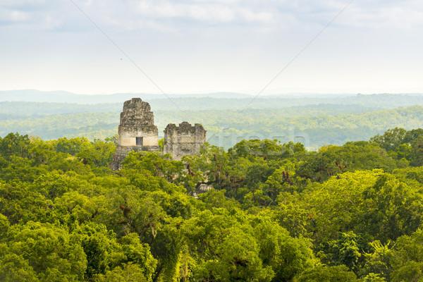 Guatemala ruinas antigua ciudad naturaleza viaje Foto stock © THP