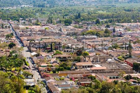 Гватемала центральный Америки город улице Сток-фото © THP