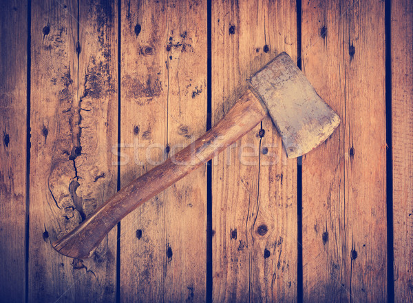 Old Axe Filtered Stock photo © THP