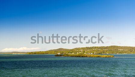 Eiland naar af kust brisbane queensland Stockfoto © THP