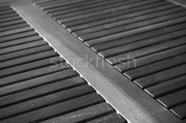 Buenos Aires vékony űrlap ismétlés minták asztal Stock fotó © THP