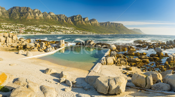 Camps Bay Ocean Pool Stock photo © THP
