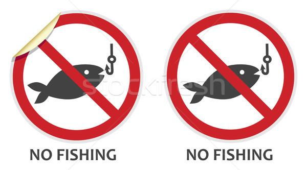 No Fishing Sign Stock photo © THP