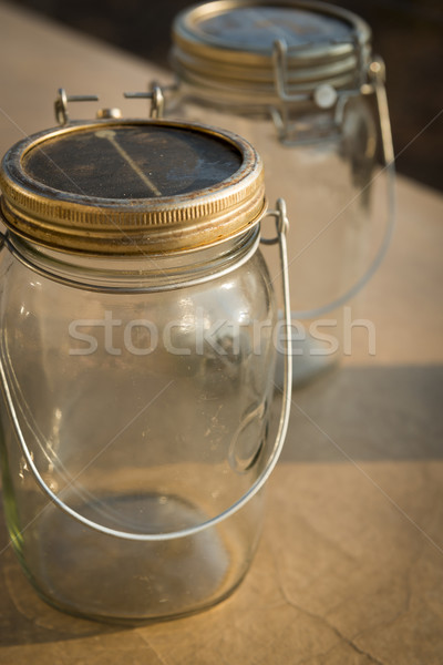 каменщик свет ретро власти Vintage Сток-фото © THP