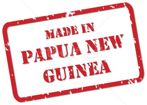Papua New Guinea Stamp Stock photo © THP