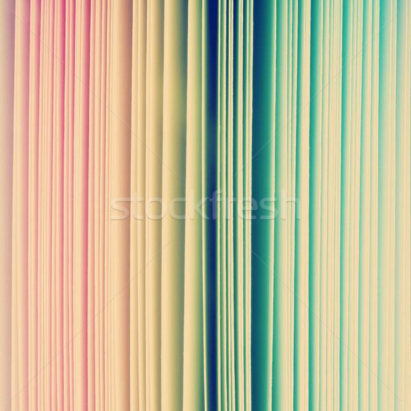 радуга бумаги цвета спектр красный аннотация Сток-фото © THP