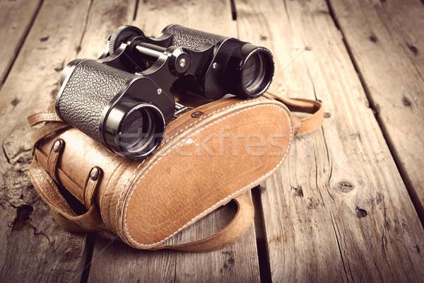 Old Binoculars Filtered Stock photo © THP