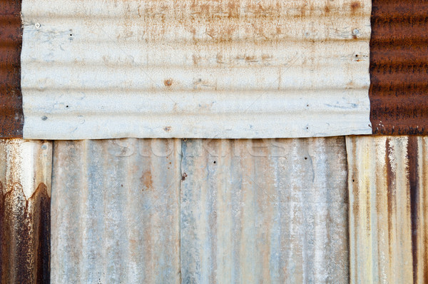 Rusted Metal Background Stock photo © THP