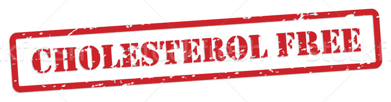 Cholesterol Free Rubber Stamp Stock photo © THP