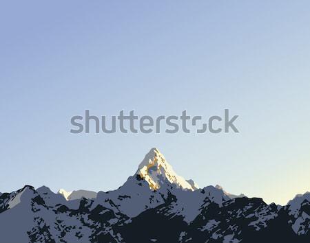 Mountain Vector Stock photo © THP