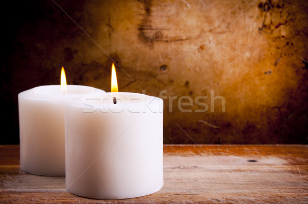 White Candles Stock photo © THP