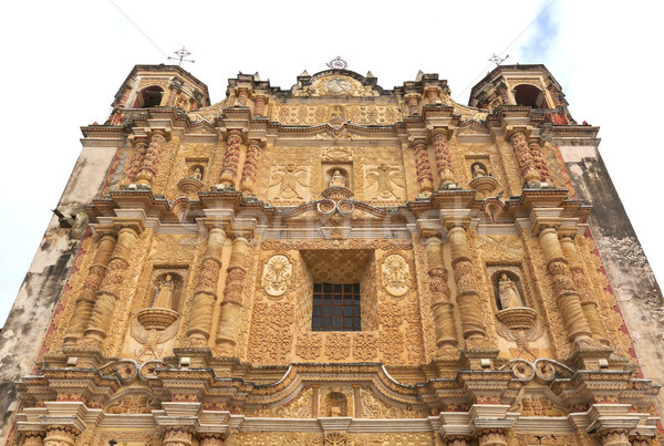 Santo Domingo Church San Cristobal Mexico Stock photo © THP
