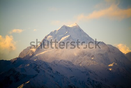 Mount Cook, New Zeland Stock photo © THP
