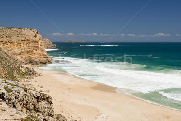 Praia múltiplo sul da austrália mar viajar Foto stock © THP