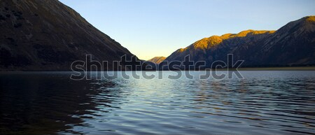 Sunset Lake Stock photo © THP