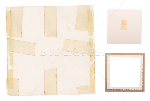 Old Photo Frames Stock photo © THP