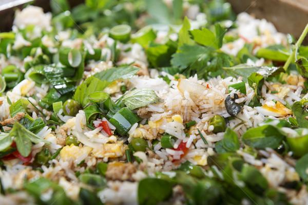 Fried Rice Stock photo © THP