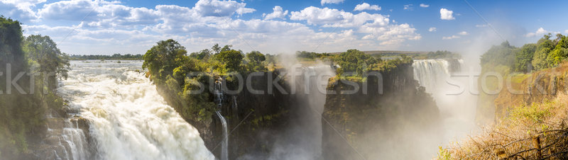 Victoria Falls Africa Panorama Stock photo © THP