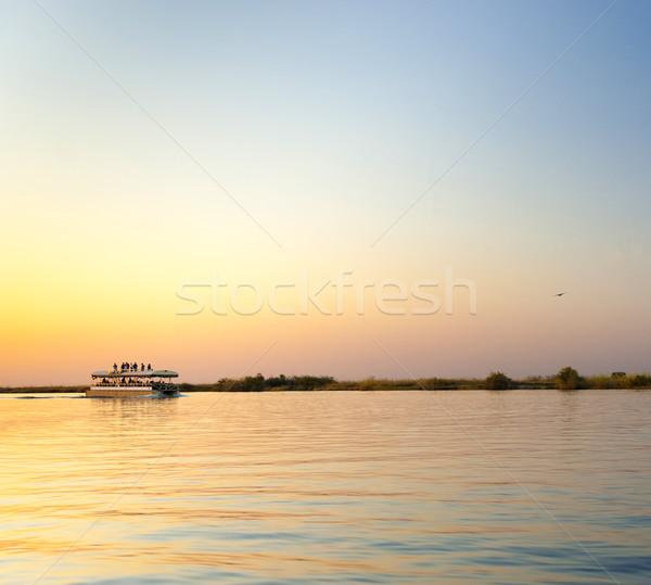 Chobe River Cruise Stock photo © THP