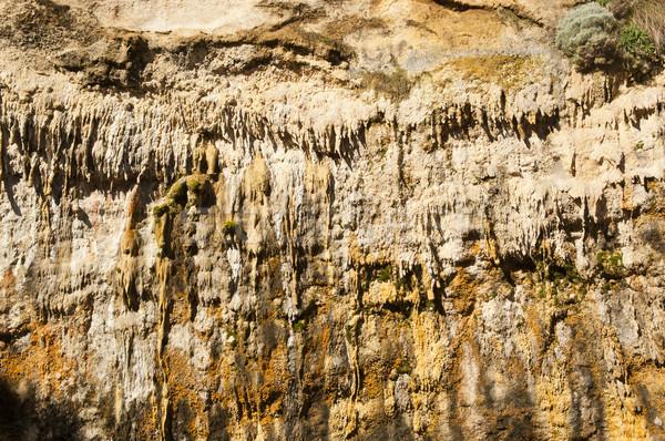 Jaskini inny wiszący ziemi kamień podziemnych Zdjęcia stock © THP